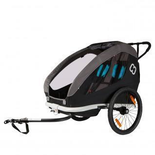 Rimorchio per bici da bambino Hamax Traveller