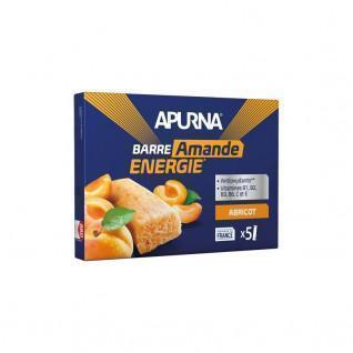Confezione da 5 tavolette Apurna Apricot/Almond
