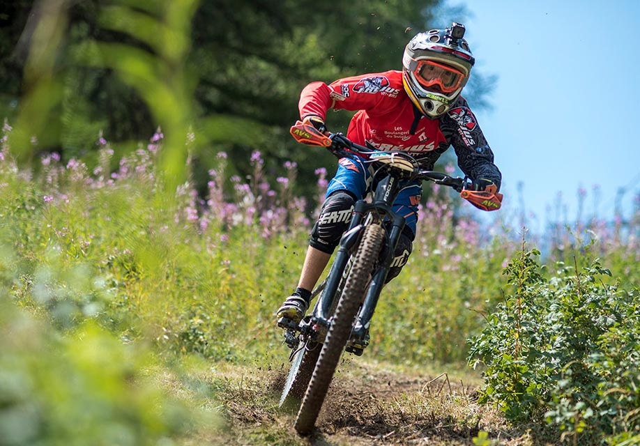 Casco da mountain bike